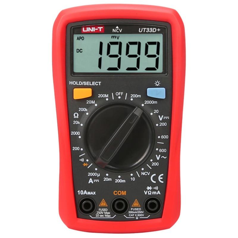 عالية الدقة جيب صغير uni-t سعر رقمي متعدد من bd اختبار العلامات التجارية