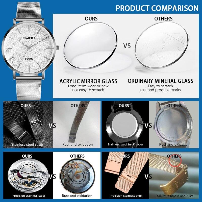 Women's Luxury Watch Quartz Stainless Steel Dial Bracele Watches Women Fashion Watch 2020 montre femme acier inoxydable enlarge