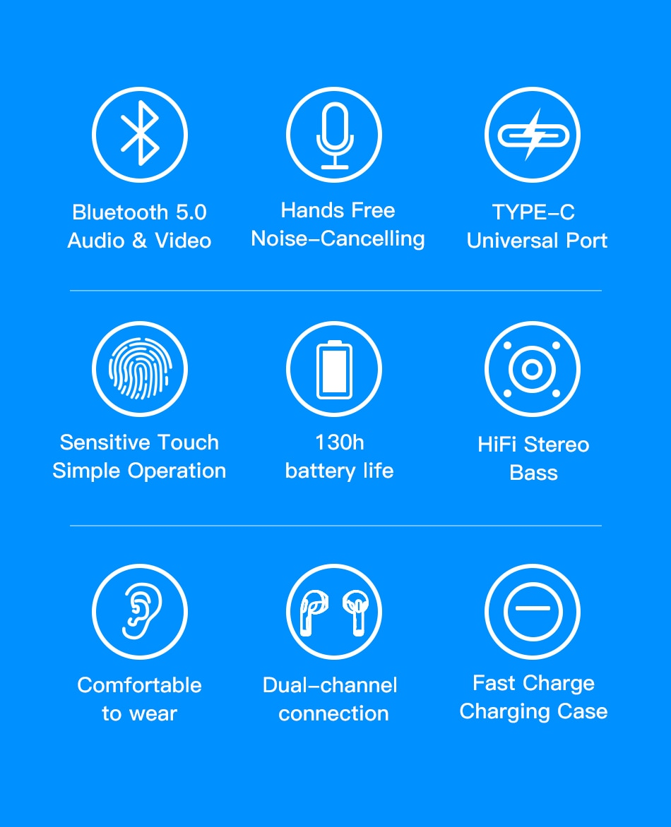 Ecouteur AWEI T17 Bluetooth Type-C prix maroc
