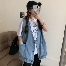 Chic Early Spring New Denim Jacket Women's Loose Korean Style Internet Celebrity All-Matching Sleeve