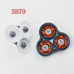 Conjunto completo SH70 Cabeças Barbeador Substituição para Philips Norelco 7000 Série S7310 S7510 S7720 RQ1250 RQ1260 S7370 S7371 S9000 RQ1050