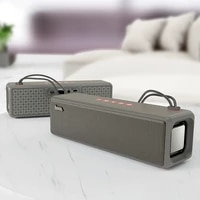 wireless sports bluetooth speaker outdoor portable woofer card radio dust proof and drop proof voice prompt fmtf card u disk aux