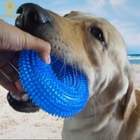 durable dog chew toys dog natural rubber dog toys robot toy balls feeder for dogs accessories things for small dogs accessoires
