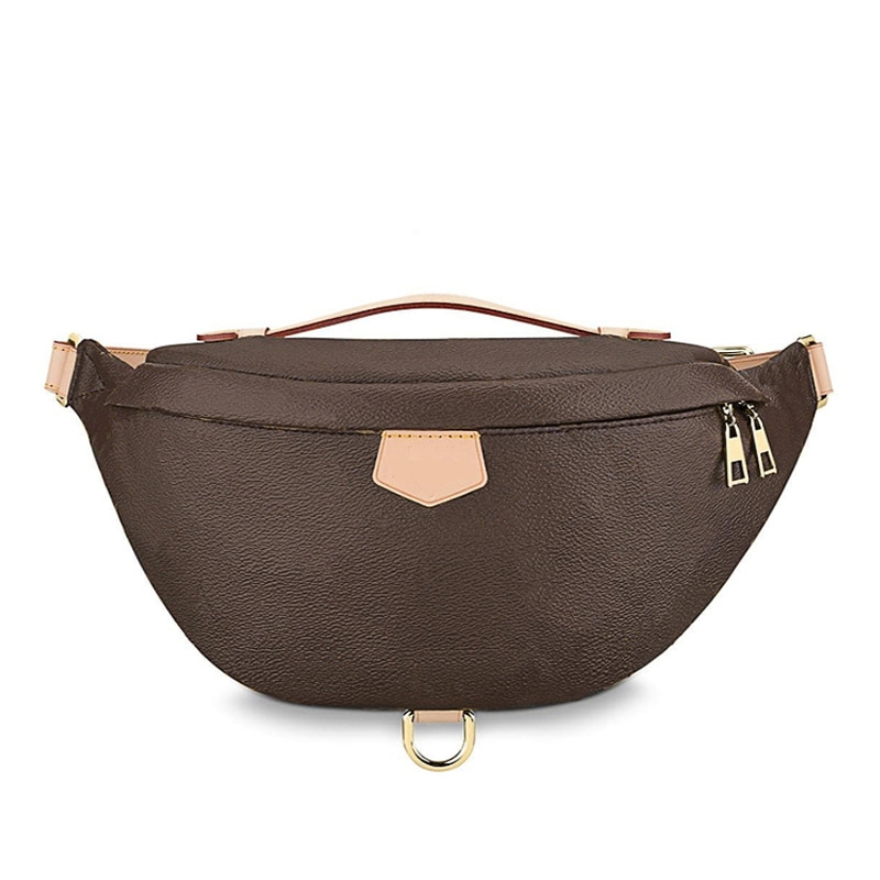 Nova moda saco da cintura das mulheres carteira de luxo marca designer sacos famosa marca mulheres alta qualidade couro monograma samll cintura sacos