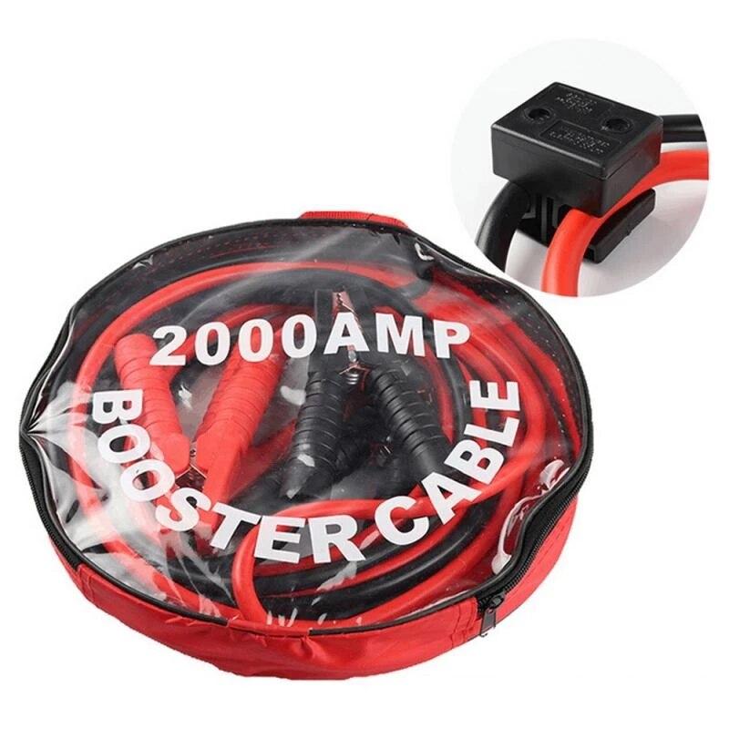 Автомобильный усилитель 3/4 м, запуск с зажимом, Автомобильный аварийный джампер, кабели, провод, автомобильный Грузовик, кабель для аккумуля...