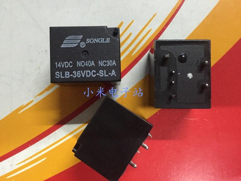 SLB-36V 48VDC-SL-A فضفاض الموسيقى مُرحّل سيارة 6 أقدام عادة مفتوحة الأمريكية 4119 40A 14VDC