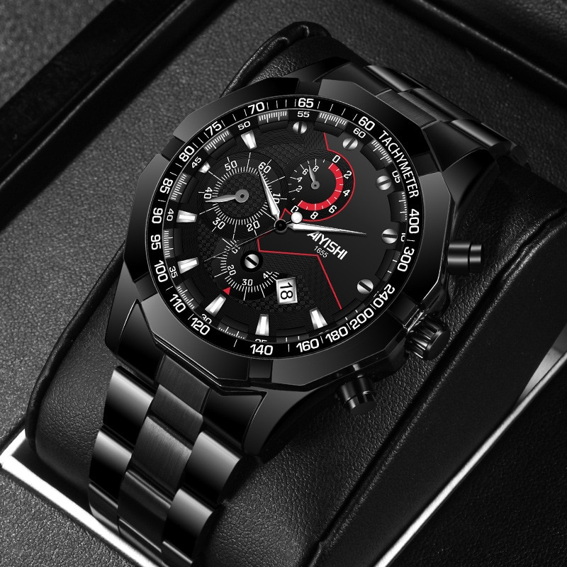Watch men Smat watch Mens Watches Waterproof Wrist Watch Date Quartz Watch For Men Sports Clock Luxury Steel watch strap wlisth fashion men s watches steel strap watch for men waterproof watches quartz wristwatch date male watch clock for men
