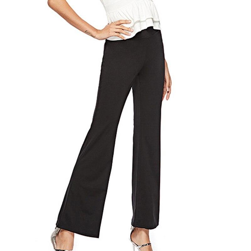 Pantalones ajustados de cintura alta para Mujer, calzas cómodas elásticas a la...
