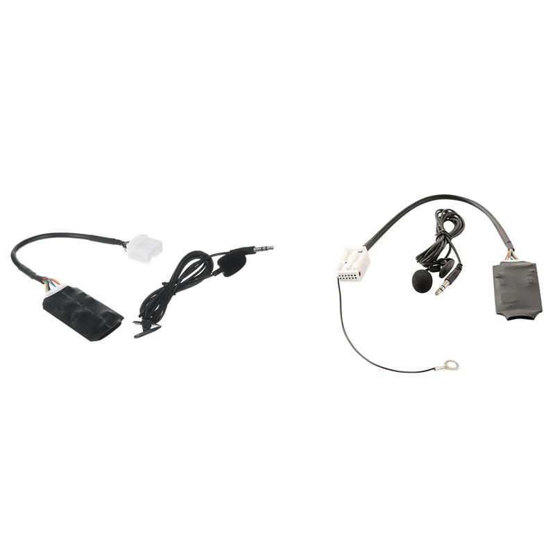 سيارة راديو محول الصوت بلوتوث لهوندا أكورد سيفيك مع 12Pin بلوتوث AUX محول صندوق القرص للعلبة/توران