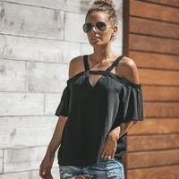 off shoulder blouse summer sexy chiffon short puff sleeve elegant korean style cute pink shirt summer clothes for women
