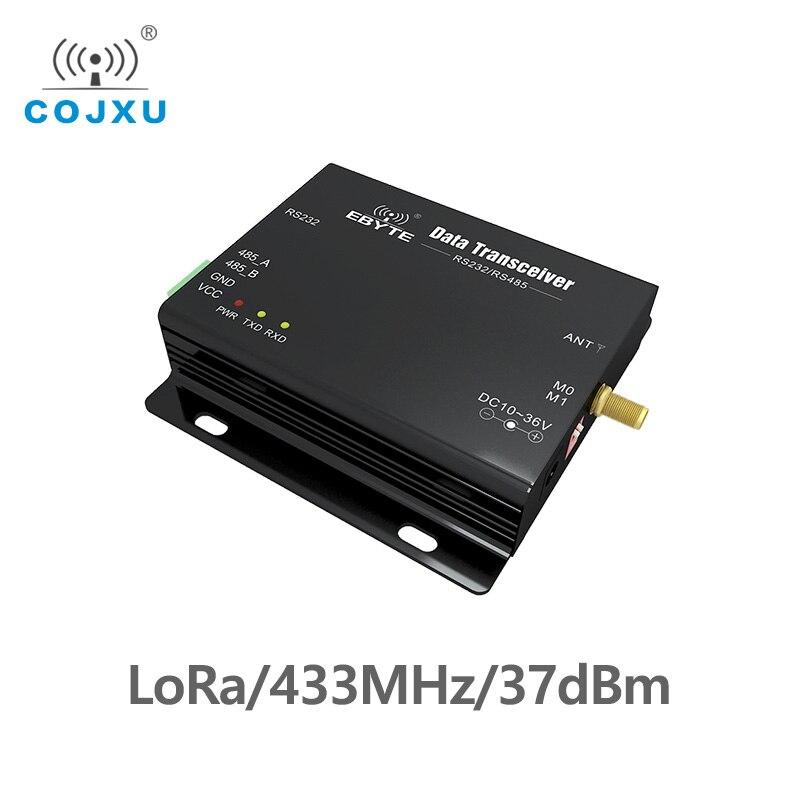LoRa SX1278 433 МГц Дальний диапазон 5 Вт E32-DTU-433L37 приемопередатчик приемник 37dBm 20 км RS232 RS485 wifi последовательный порт передачи данных