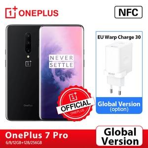 Глобальная версия OnePlus 7 Pro смартфон 6 ГБ 128 48MP камеры Snapdragon 855 2K + жидкость активно-матричные осид, Экран OnePlus официального магазина Carter's; код:P3XCNVAQ(₽2000-200)