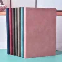 creative sheepskin pu a5 agenda planner business notebook student diary meeting agenda notepad notepads stationery sketchbook