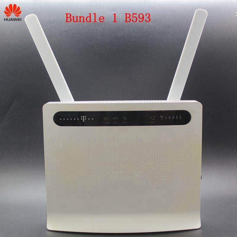 Huawei 4G Router B593 mit Antenne ZTE Router MF283U 4G LTE Router WIFI Router SIM Karte Tasche wifi router PK E518