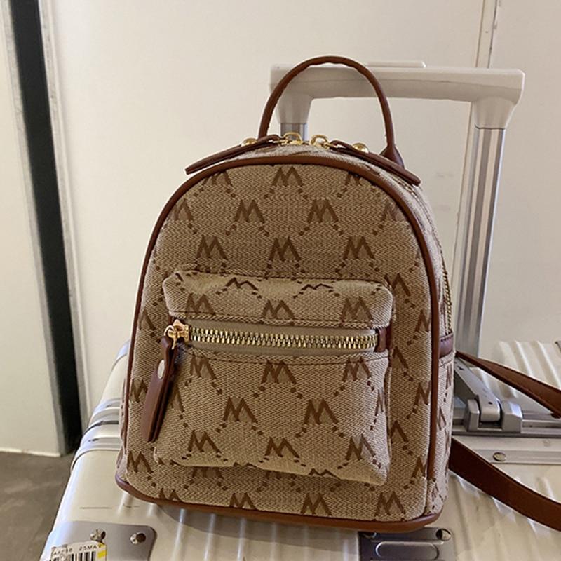 Брендовый дизайнерский женский рюкзак, модные маленькие рюкзаки, женский рюкзак из мягкой искусственной кожи, женский рюкзак, сумка на плеч...