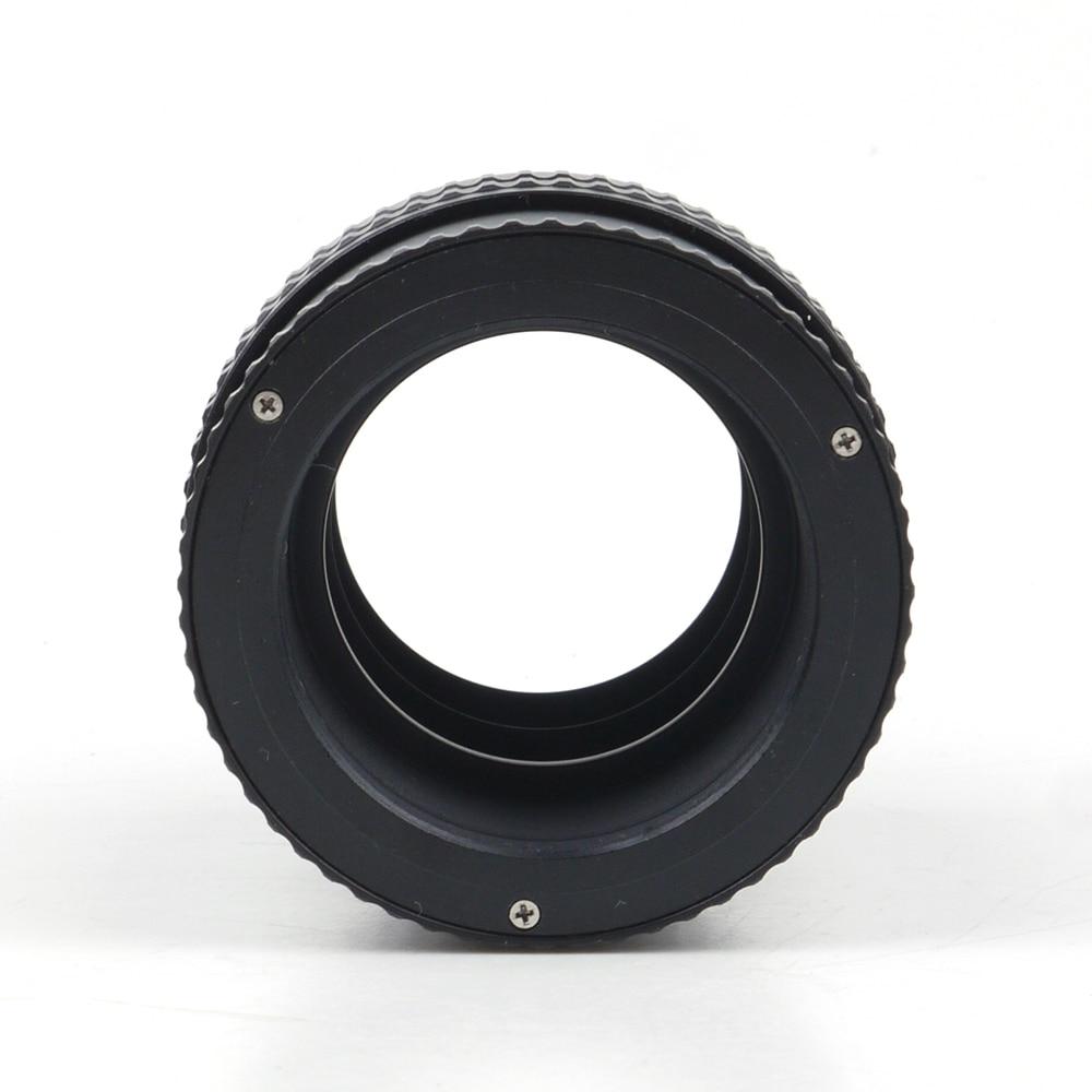 Pixco M52 a M42 lente de montaje ajustable de enfoque helicoidal Macro tubo adaptador-17mm a 31mm