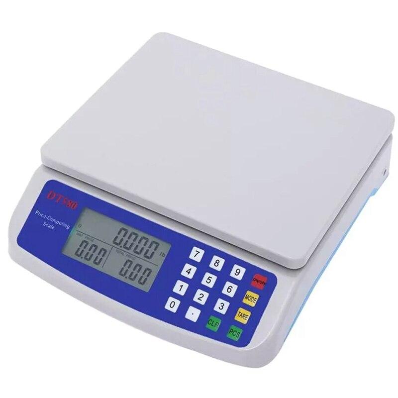 30 كجم/1 جرام المطبخ مقياس ميزان المطبخ الرقمي مع الخلفية شاشة الكريستال السائل قياس ميزان إلكتروني ميزان المطبخ