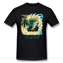Welt Iceborne Zinogre Kanji schwarz T Shirt monster hunter ARPG PS4 SPIEL PLAYER homme T-Shirt Tees