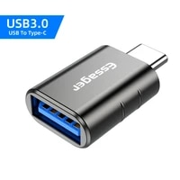 essager otg adapter usb 3 0 to usbc type c male converter for samsung huawei xiaomi laptop tablet female connector universal