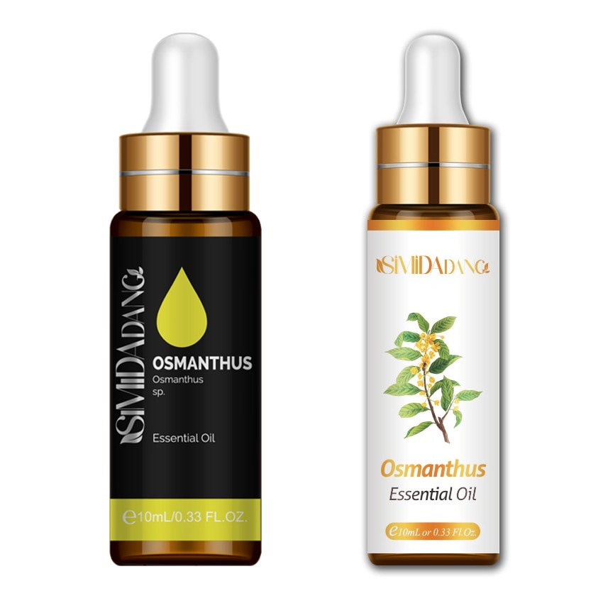 10ML Fragrance Diffuser Pure Natural Aromatherapy Oil With Dropper  Osmanthus Essential Oil Spa Mass