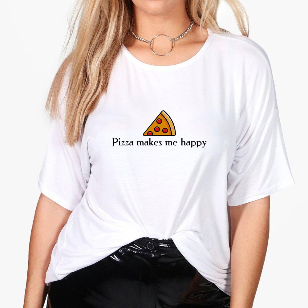 Pissa Me hace feliz Casual Hip Hop Oversize Vintage divertido Harajuku camiseta Streetwear camiseta Pop Primavera Verano Vogue camiseta