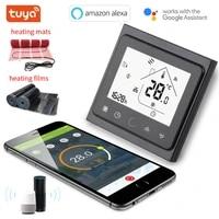 Thermostat intelligent pour chauffage au sol  wi-fi  fonctionne avec Alexa et Google Home