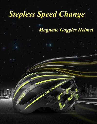 MTB y casco de gafas para carretera de diversos colores casco de...