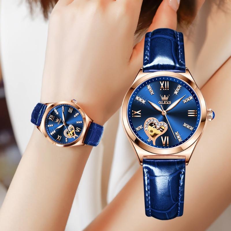 Women's Watch Fashion Suit Automatic Watch Gift Mechanical Women's Watch Waterproof Women's Watch enlarge