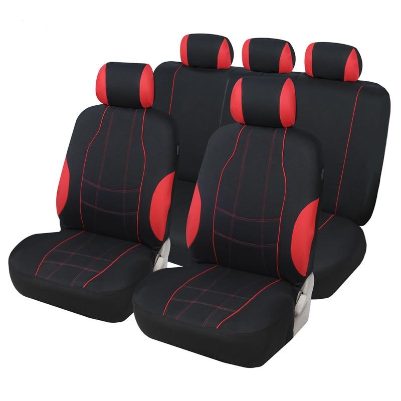 Cubierta completa de fibra de lino para asiento de coche, fundas de asientos de coche para isuzu d-max jac j3 jac s2 jac s3 jaguar f-pace jaguar xf