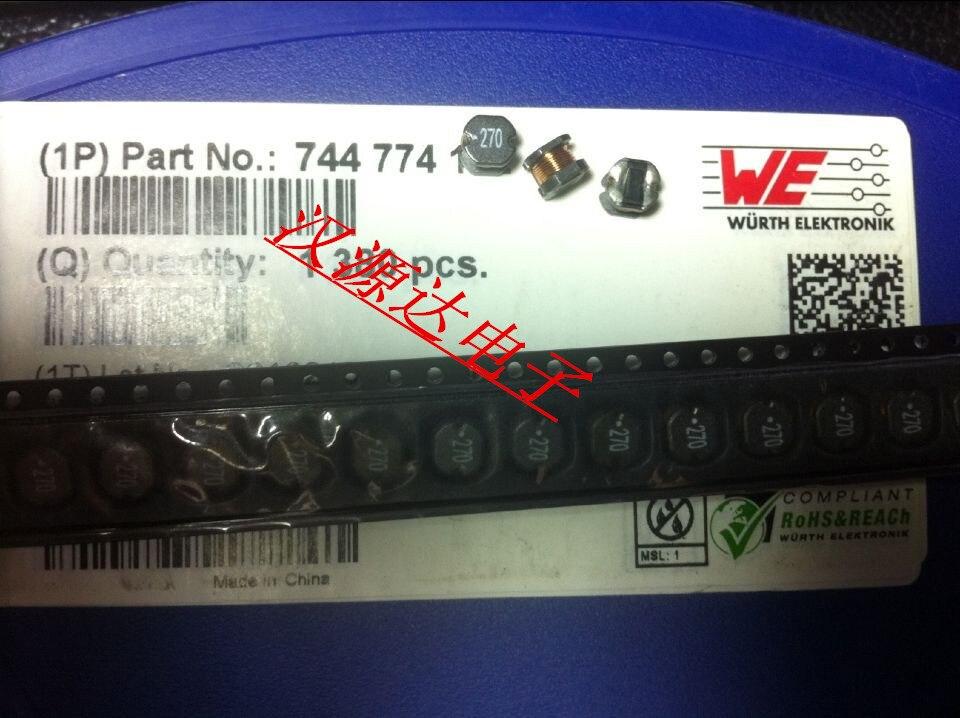 Indutores de potência smd ferida 744774127 CD54-27UH 1.4a 5.8x5.2x4.5mm