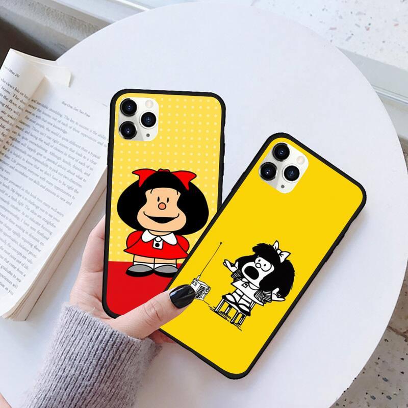 Funda de goma para teléfono móvil, carcasa de Anime para iPhone 11...