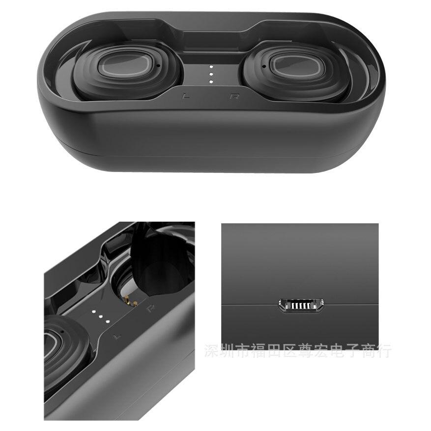 Jsk-v7 auriculares Bluetooth 5,0 superventas TWS, Auriculares deportivos inalámbricos de doble oído con pantalla LED, auriculares modelo Atlético