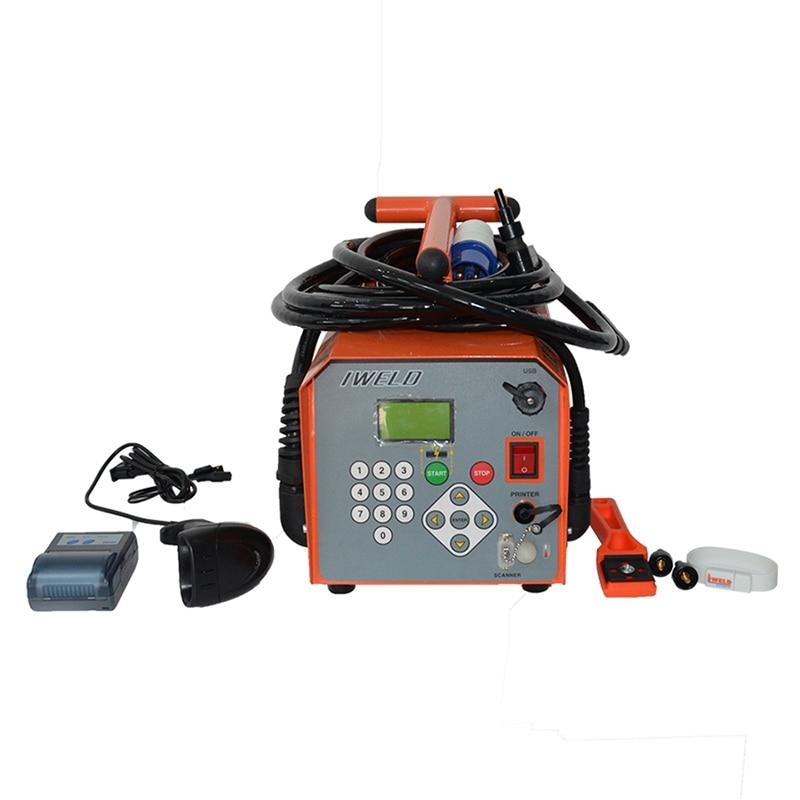 ZDRJ 400 Máquina de Soldadura por Electrofusión de Accesorios de HDPE