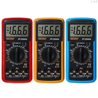 DT9205A Digital Multimeter hFE AC DC Triode Diode Resistance Amp Electric Tester