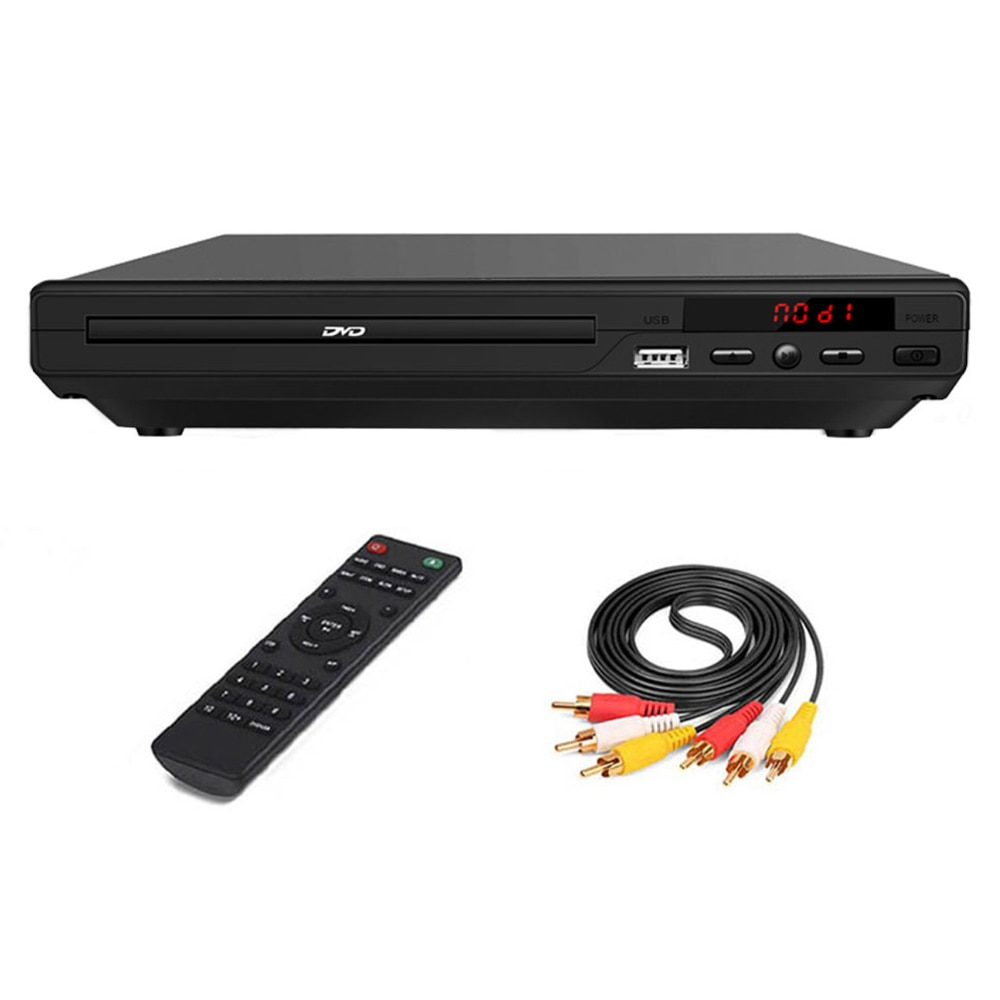 HD مشغل ديفيدي 720P الوسائط المتعددة التلفزيون الرقمي دعم USB/فيديو/DVD/RW/CD/Audio/VCD/SVCDJE/PG/MP3/WMA/CD نظام مسرح منزلي