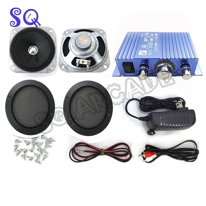 Caja de juegos con Operador de monedas, Kit de Audio para juegos...