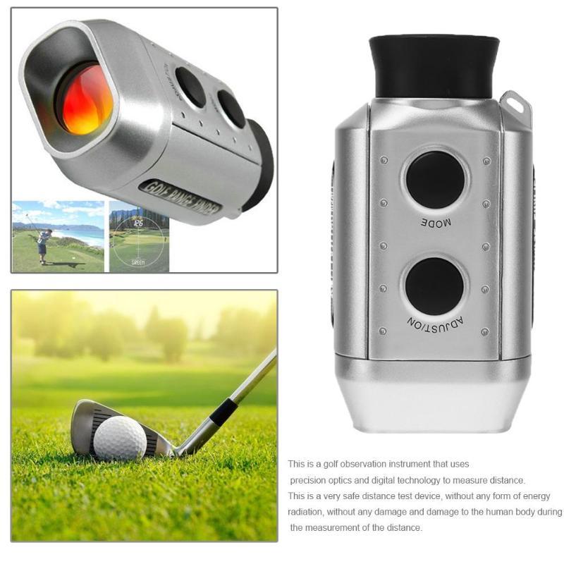 Цифровой оптический телескоп дальномер для гольфа измеритель расстояния