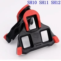 spd sl spd sm sh10 sh11 sh12 cleat pedal plano genuino para los pedales de carretera bicicleta pedal de la bicicleta cli