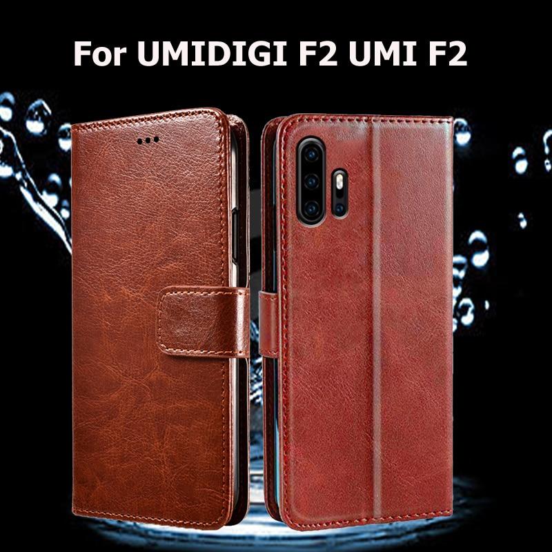 Para umideli F2 umideli F 2 Funda de teléfono con tapa para UMI F2 UMI F 2 Funda PU Funda de cuero tipo cartera fundas para teléfono 6,53 pulgadas