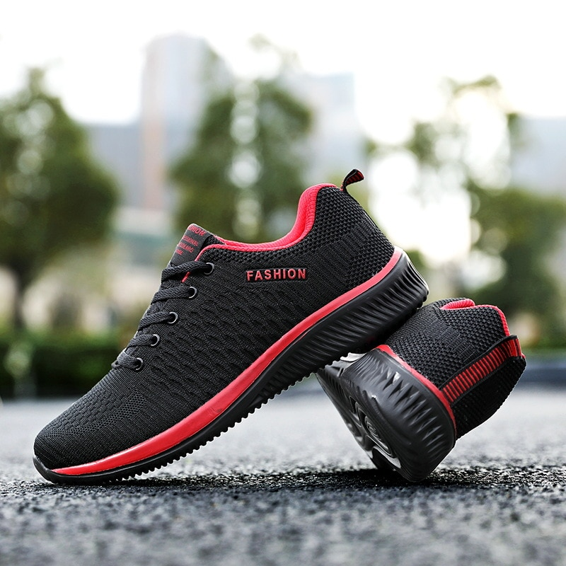 Zapatillas de deporte transpirables para hombre y mujer y calzado deportivo para correr y caminar y gimnasio 36-48