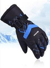 Hiver chaud montagne Snowboard gants de Ski hommes femmes neige froide Ski mitaines imperméable motoneige vélo moto neige
