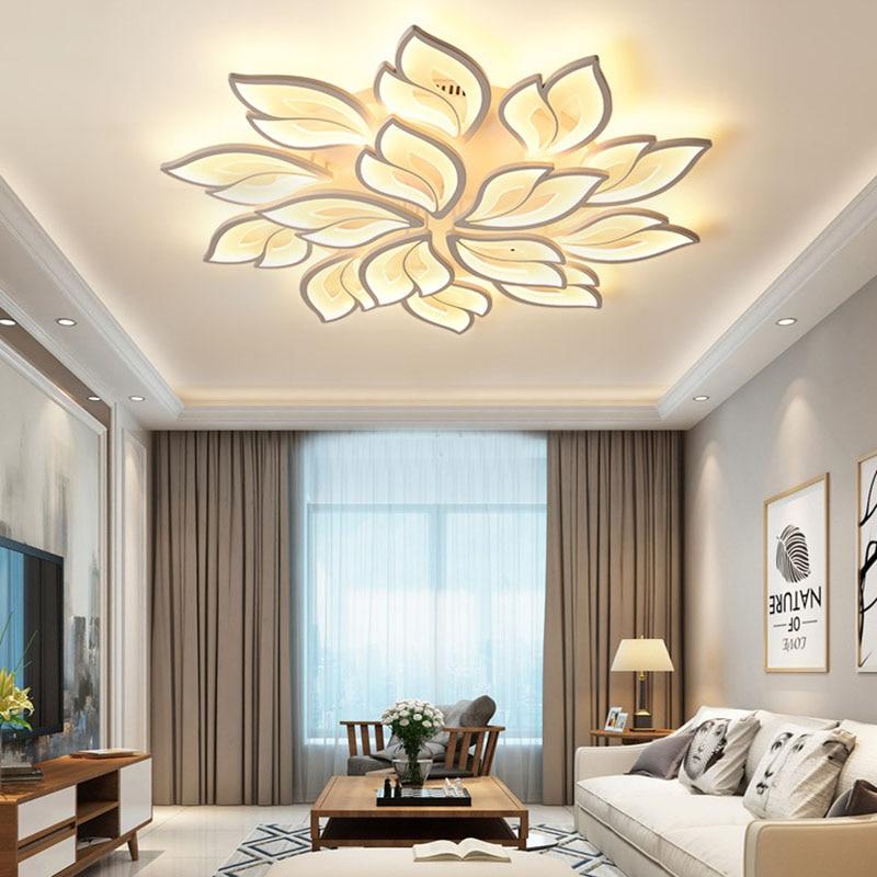 lampada de teto led moderna para quarto controle remoto aplicativo inteligente sala