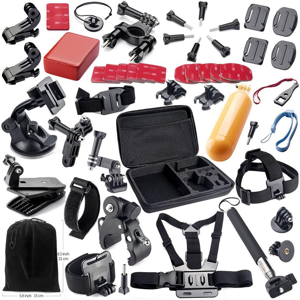 GloryStar-مجموعة ملحقات الكاميرا الرياضية ، لكاميرا Gopro Hero 7 6 5 4 3 SJ4000 SJ5000 SJ6000 SJ7000 SJ9000 Xiaomi Yi