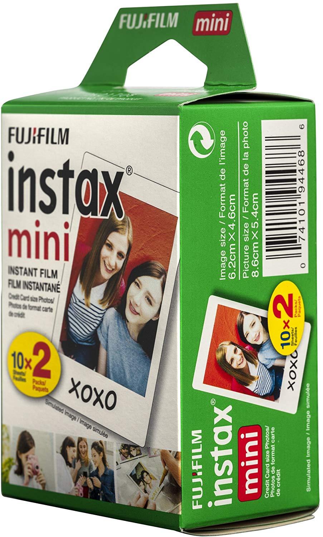 Papel instantáneo de película, hojas 10-100, papeles de fotografía Instax para Fujifilm Instax mini 9 7c Kameras, paquete de fotos con marco blanco
