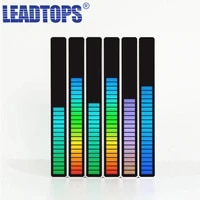 leadtops led strip light sound control pickup rhythm light music atmosphere light rgb colorful tube usb energy saving lamp