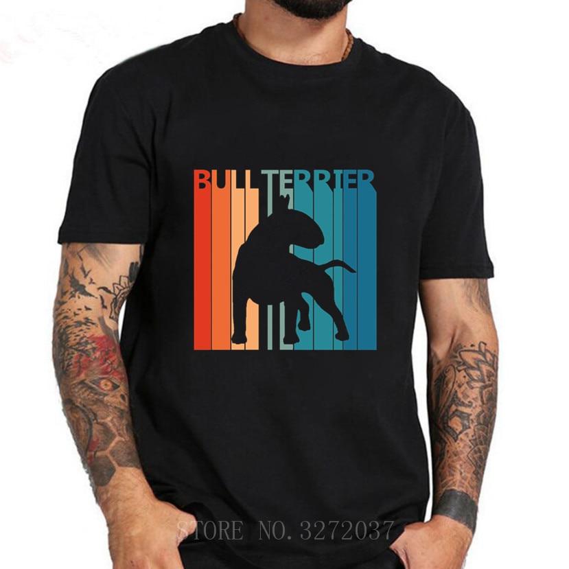 Divertido lindo inglés Bull Terrier perro T camisa Dab camiseta Homme 2019 nuevo Tops camisas de manga de la banda