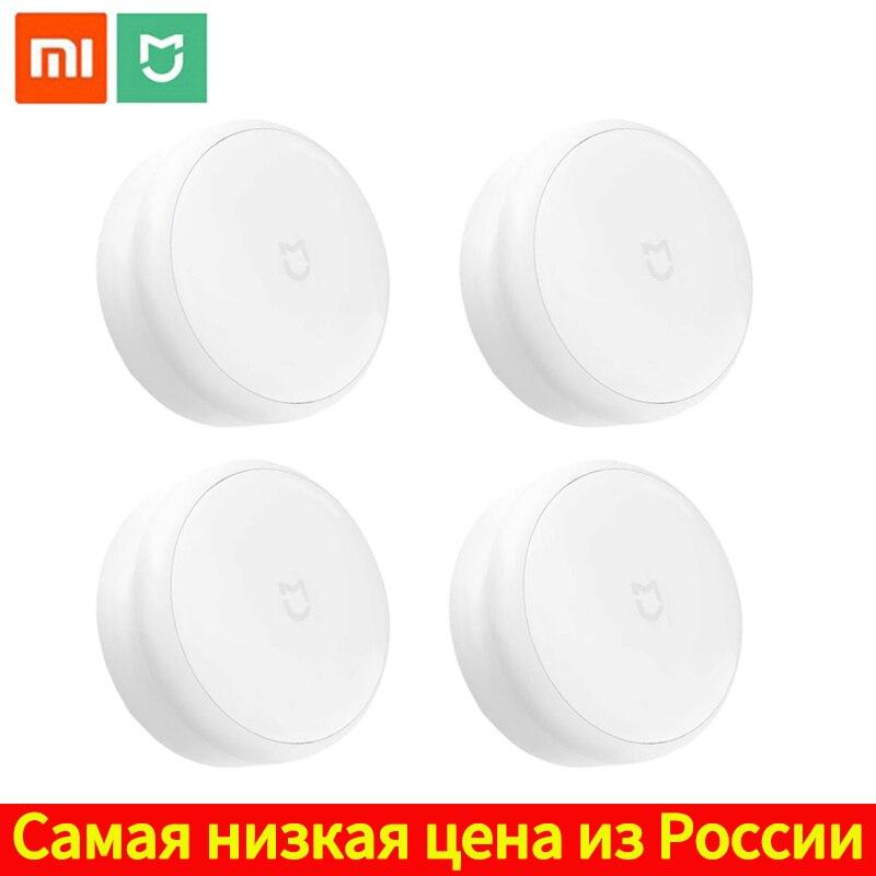 Lámpara LED Xiaomi Mijia para pasillo, luz nocturna, Control remoto infrarrojo, Sensor de movimiento corporal, luz de Mi hogar inteligente