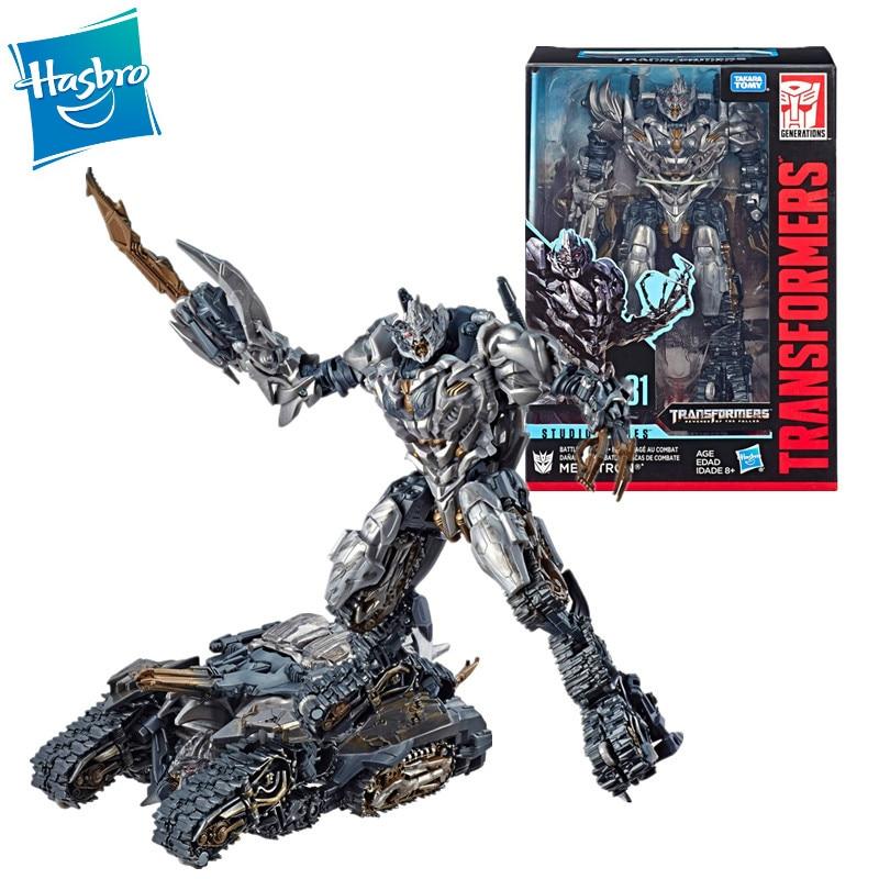 18Cm Hasbro Transformers Spielzeug Roboter Megatron Action Figure Sammlung Modell Beweegbare Figuur Kinderspeelgoed Kerstcadeaus