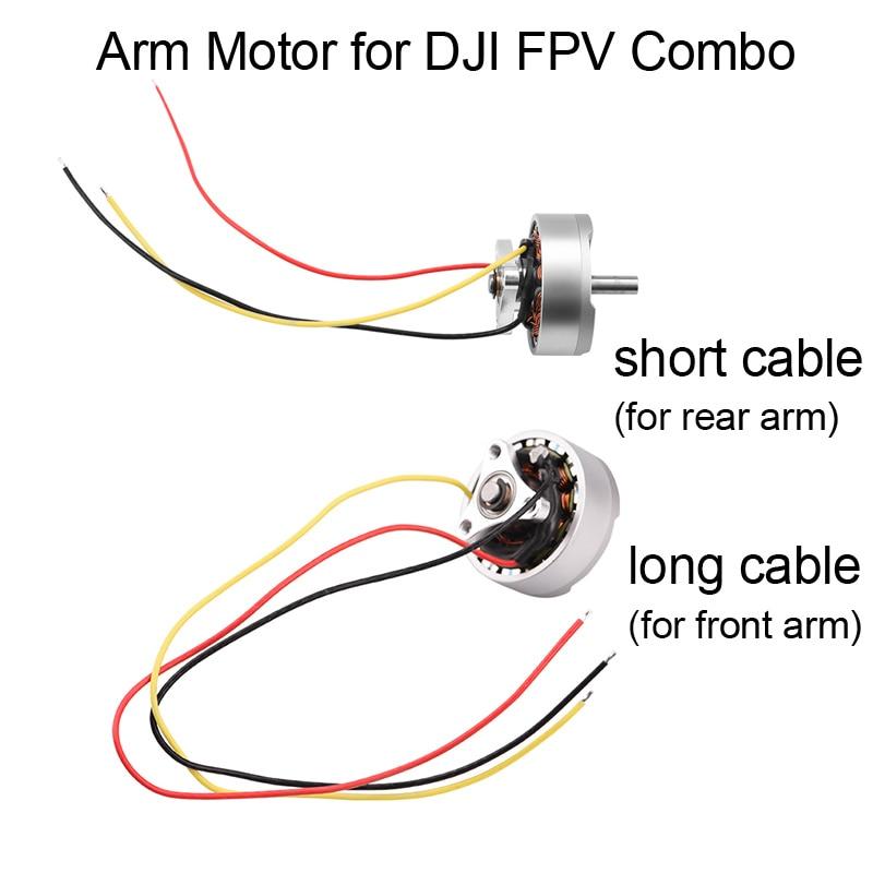Peça de Reposição do Motor de Braço Original para Dji Motor com Cabo para Fpv Motores de Aeronaves Drone Frente Braço Traseiro Combo Reparação Substituição Fpv
