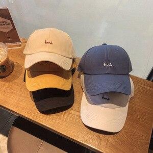 Hat female summer fashion small letter Embroidered Baseball Cap male outdoor student sun visor Korean cap fashion